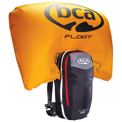 AIRBAG РАНИЦА BCA FLOAT 22 BLACK БЕЗ БУТИЛКА
