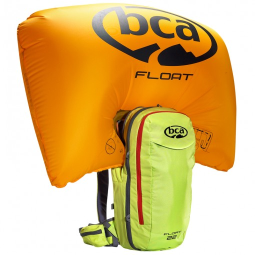 AIRBAG РАНИЦА BCA FLOAT 22 BLACK + БУТИЛКА