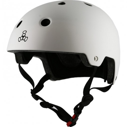 КАСКА TRIPLE EIGHT BRAINSAVER S/M WHITE