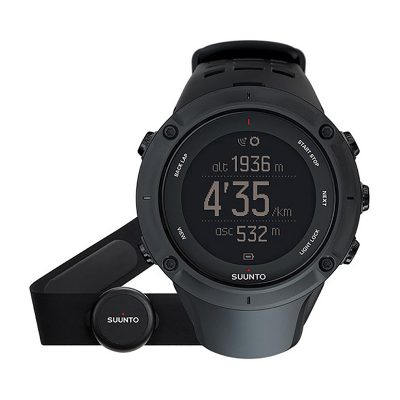 ЧАСОВНИК SUUNTO AMBIT3 PEAK BLACK HR С ВГРАДЕН GPS