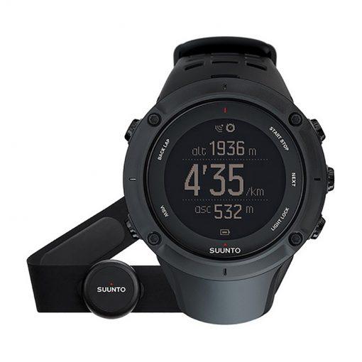 ЧАСОВНИК SUUNTO AMBIT3 PEAK BLACK HR С ВГРАДЕН GPS