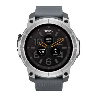 ЧАСОВНИК NIXON THE MISSION CONCRETE Android Wear™
