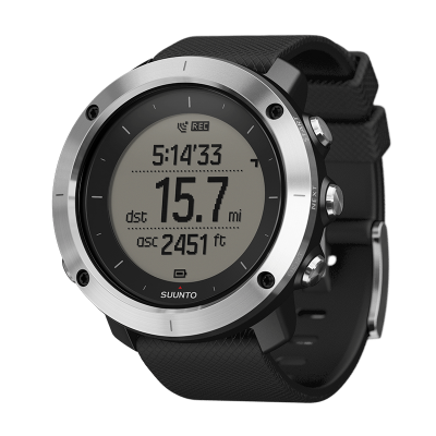 ЧАСОВНИК SUUNTO TRAVERSE BLACK С ВГРАДЕН GPS