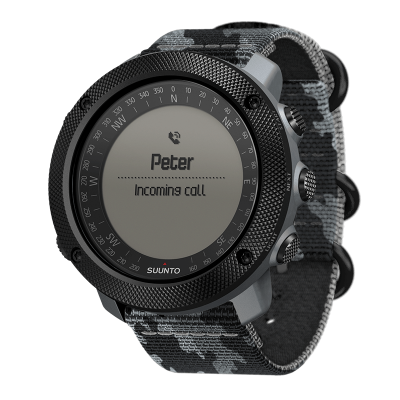 ЧАСОВНИК SUUNTO TRAVERSE ALPHA CONCRETE С ВГРАДЕН GPS