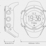 ЧАСОВНИК SUUNTO AMBIT3 PEAK BLACK С ВГРАДЕН GPS