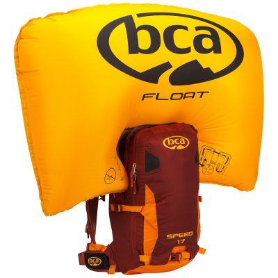 AIRBAG РАНИЦА FLOAT 17 SPEED ORANGE/MAROON + БУТИЛКА