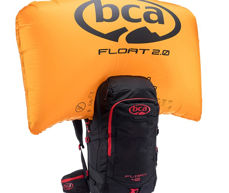 AIRBAG РАНИЦА BCA FLOAT 42 BLACK 2.0 + БЕЗ БУТИЛКА