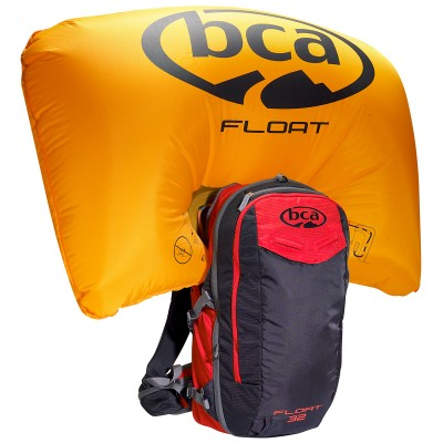 AIRBAG РАНИЦА BCA FLOAT 32 BLACK/RED + БУТИЛКА