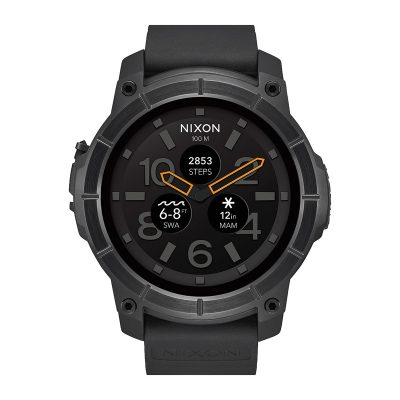 ЧАСОВНИК NIXON THE MISSION ALL BLACK Android Wear™